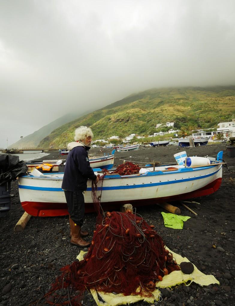 Pêcheur de Stromboli