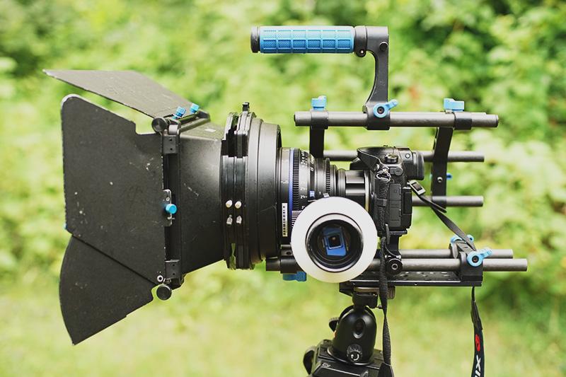 Configuration pro pour filmer avec le GH4 Rig-profil