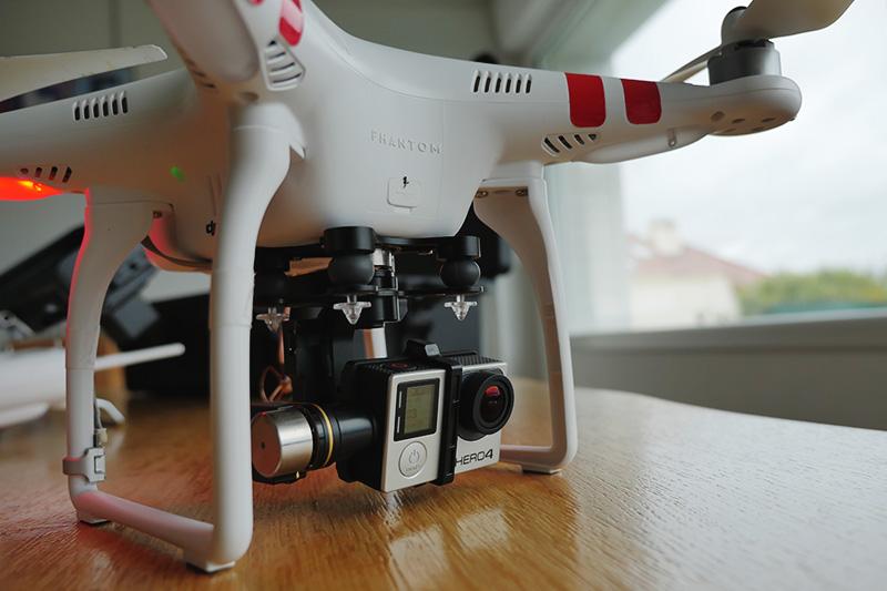 Filmer d'en haut en 4K