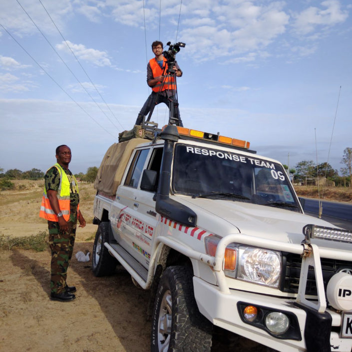 Tournage Bollore Logistics Kenya 5mars